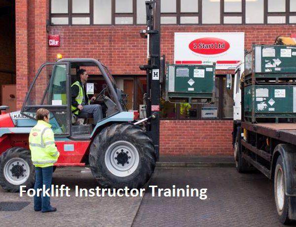 ITSSAR Forklift Instructor/Examiner - Full Novice Course