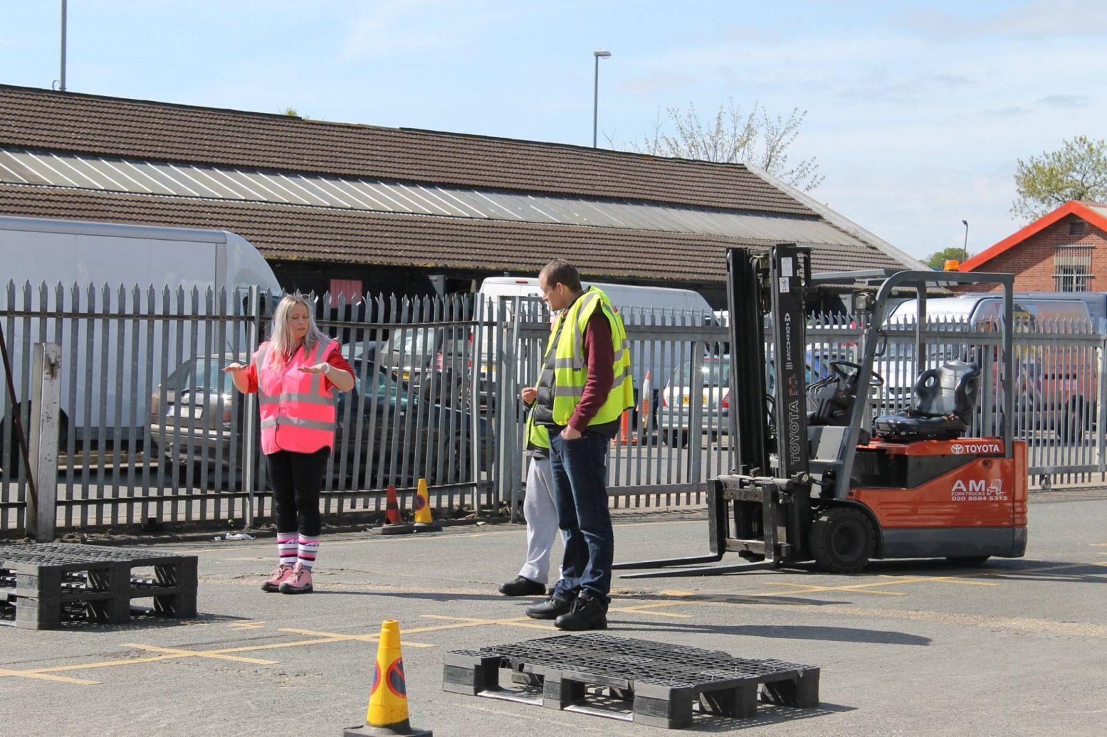 Local Forklift Instructor Training Re Registration Itssar 2 Start